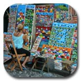Salvador Tourist Information Painter